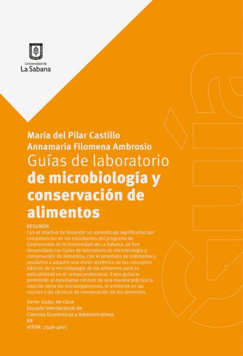 GUÍAS DE LABORATORIO DE MICROBIOLOGIA Y CONSERVACIÓN DE ALIMENTOS